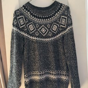 Cute black and grey sweater